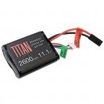 TITANPOWER 11,1 2600mah Brick Tamiya