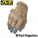 Перчатки Mechanix Tactical M-Pact Fingerless Coyote, полпальца | цвет Coyote | (MFL-72)