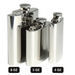 STAINLESS STEEL FLASK 8 OZ (220 ML)