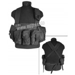 MilTec Chest Rigg AK 6 карманов (Black)