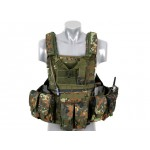 8 FIELDS Tactical Vest - Flecktarn