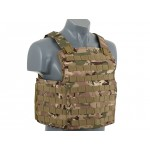 8 FIELDS Navy Seal Lightfighter Plate Carrier Vest - Multicamo