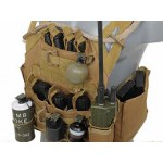 8FIELDS Lightweight Jump Plate Carrier with Pouch Set - Olive
