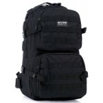 Рюкзак Molle Assault Tactical  48х30х15cm 35L, черный (014BK)