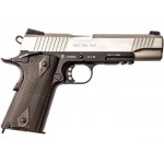 Страйкбольный пистолет Cybergun Colt 1911 Rail Gun Stainless Silver CO2 Full Metal - Blowback - 180531