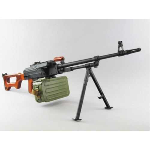 A&K модель пулемета PKM Wood Version (without battery and charger)