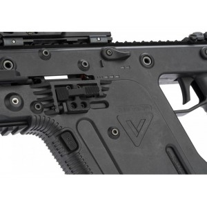 KRYTAC KRISS Vector AEG SMG Rifle with Suppressor (KTAEG-VSMGF-BK)