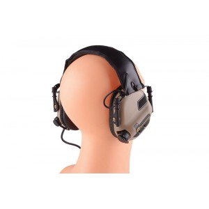 Активные наушники Earmor Tactical Hearing Protection Ear-Muff- TAN (M32-TN)