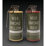 G&G M18 smoke Grenade BB Can Set RED/YELLOW