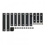 12 Piece Rail Panel Kit for URX3 Type Handguard - Black [MP]