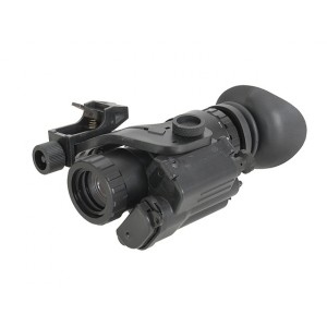 ACM PVS type scope with laser marker - black