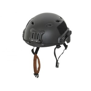 FAST BJ Helmet Replica with quick adjustment - Black [EM]