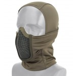 Tactical Multi Hood Full Face Shadow Fighter BK, OD, TAN [Anbison Sports]